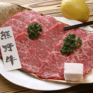 和歌山県産 紀州熊野牛ロース焼肉400g