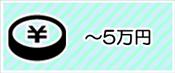 〜5万円の景品セット