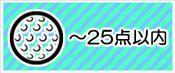 〜25点の景品